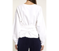 x F. Girbaud Cropped Sweater white