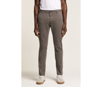 Clifton Skinny Fit Chino mid grey