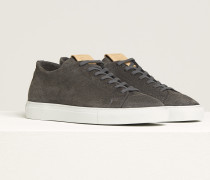 Sneaker aus Veloursleder shade grey