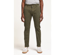 Clifton Slim Brushed Chino deep woods