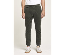 Cordhose Atelier Cropped olive nights