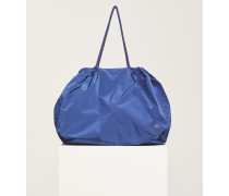 Nylon Bag indigo blue