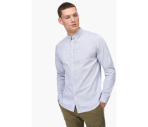 Oxford Button Down Hemd stone
