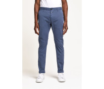 Clifton Slim Brushed Chino faded woad