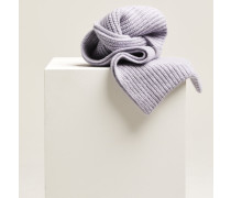 Schal aus Royal Baby Alpaka Mix thistle