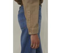 Worker Shirt burlywood