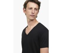 Basic V-Neck Shirt black
