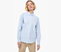 Bluse aus Popeline blue cadillac