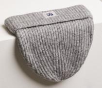 Strickmütze grey heather melange