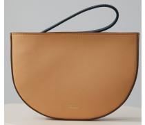 Myrtle Colour Block Bag caramel