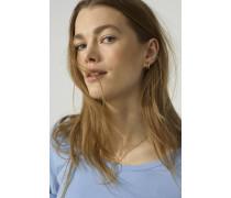 Rundhals T-Shirt oxford blue
