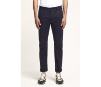 Clifton Slim Brushed Chino dark night
