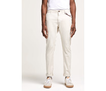 Clifton Slim Brushed Chino moon grey