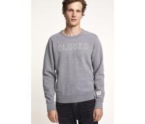 Logo Sweatshirt dark grey melange
