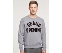 Statement Sweatshirt grey heather melange