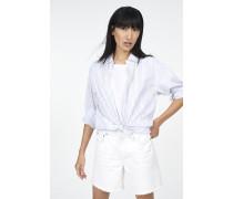 Jeansshorts Cream White Denim white