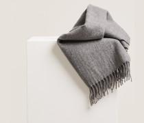Wollschal grey heather melange