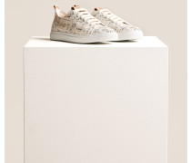 x F. Girbaud Canvas Sneaker white