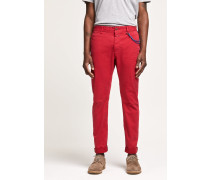Clifton Slim Brushed Chino pink glow