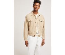 x F. Girbaud Jacke aus Baumwoll Twill middle beige