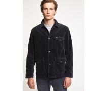 Worker Jacket aus Cord navy