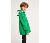 Kids Kapuzensweatshirt mit  Logo clover