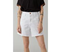 "Worker ""85 Shorts White Heritage Denim white"