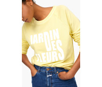 Sweatshirt mit Print mellow yellow