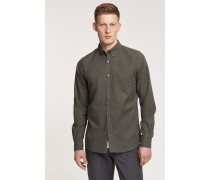 Button Down Hemd deep woods