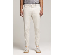 Atelier Cropped Brushed Chino moon grey