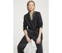 Collection Blazer aus Satin black
