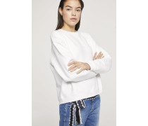 Logo Sweatshirt white