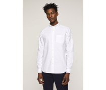 Button Down Hemd aus Oxford white