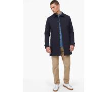 Mantel aus Baumwolle navy