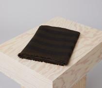 Jacquardschal aus reiner Wolle black