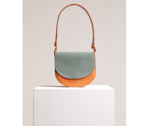 Saddle Bag aus Leder moonglow