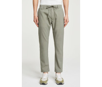 Atelier Re-Stitched Wollhose cut hay