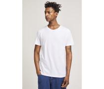 x F. Girbaud T-Shirt mit reflektierenden Prints white