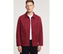 Worker Jacket ruby red