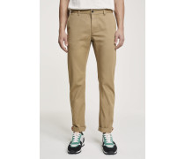 Clifton Slim Fit Twillhose chino beige