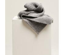 Strickschal aus Royal Baby Alpaka Mix grey heather melange
