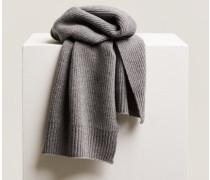 Strickschal grey heather melange