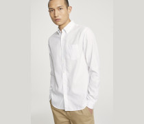 Button Down Hemd white