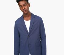 Sakko aus Baumwoll-Stretch indigo blue
