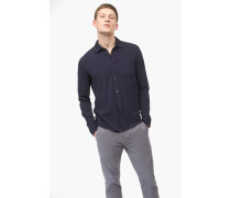 Jerseyhemd aus Pima Baumwolle navy