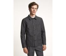 Worker Jacket dark grey melange