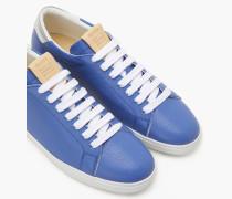 Leder Sneaker sea blue