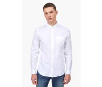 Oxford Button Down Hemd white