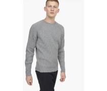 Raglanpullover grey heather melange