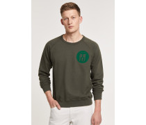 Sweatshirt mit Print deep woods